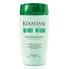 Flat Hair? I've Found the Best Products for Fine Hair: Overall Best Shampoo for Fine Hair: Kerastase Bain Volumactive