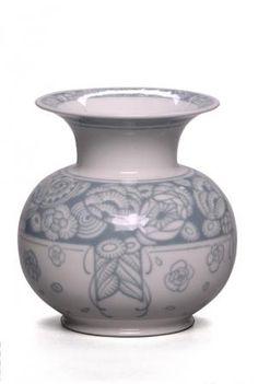 Vase Aubert n° 9 en porcelaine de Sèvres Présenté à l'Exposition internationale des Arts décoratifs et industriels modernes de Paris en 1925