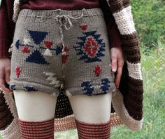 upcycled sweater - wouldn't these be perfect for dancers! I like the shorts idea.