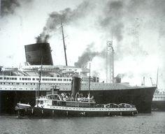 Normandie au départ du Havre