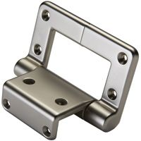 Lid-Stay Torsion Hinge Lid Support, Satin Nickel Finish - Perfect for toy boxes. Rockler.com