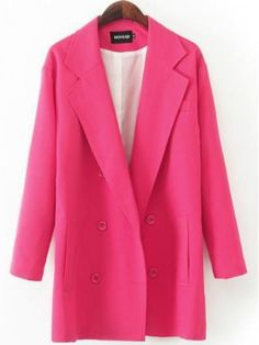 Shop Women's Loose Style Pink Long Blazer online. TrendyFine offers Women's Loose Style Pink Long Blazer & more to fit your fashionable needs. Free Shipping Worldwide!