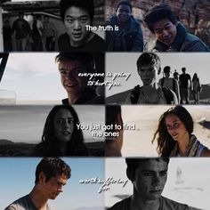 """#TheScorchTrials - """"The truth is everyone is going to hurt you. You just got to find the ones worth suffering for."""""""