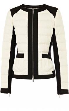 Karen Millen Lightweight down jacket.
