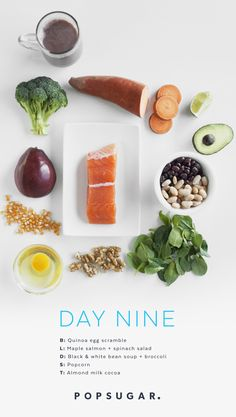 Day 9 Recipes: Clean-Eating Plan