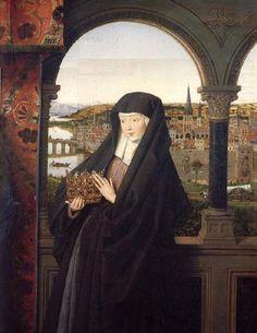 Jan Van Eyck - St. Elizabeth of Hungary | by folkcoll