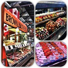 St Lawrence Market - one of the coolest places in the city to check out, and a foodies paradise!  Photo by karinainto