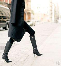 Cut a super-sleek silhouette in the Tory Burch Bernice Boot. On Sale!