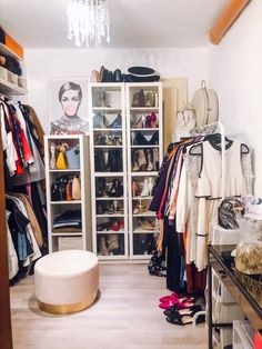 How to clean and organize your closet when you have limited storage space