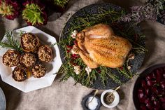 On the Table A Soulful Feast with Chef David Mawhinney - Domino is baaaackk! Chicken Dishes For Dinner, Turkey Dishes, Dinner Dishes, Main Dishes, Meat Recipes, Chicken Recipes, Cooking Recipes, Healthy Recipes, Recipies