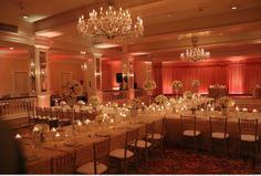 X Table in District Ballroom