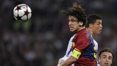 In an exclusive, wide-ranging interview with Goal, Carles Puyol explains why he disagrees with Xavi on Atletico Madrid's defensive tactics Uefa Champions League, Soccer Ball, Madrid, Header, Amazing, Goal, Interview, Sports, Hs Sports