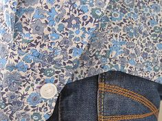 Colette Patterns Negroni Shirt in Liberty print by flossieteacakes, via Flickr