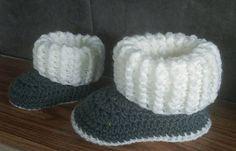 Ravelry: Toddler Ugg Style Slipper Boots pattern by Jinty Lyons