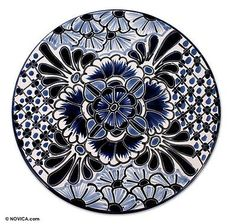 Shop unique, award-winning Artisan treasures by NOVICA, the Impact Marketplace. Each original piece goes through a certification process to guarantee best value and premium quality. Ceramic Plates, Decorative Plates, Norwegian Rosemaling, Talavera Pottery, Furniture Knobs, Lazy Susan, Mandala Coloring, Pottery Painting, Collage Sheet