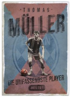 Retro football posters on Behance