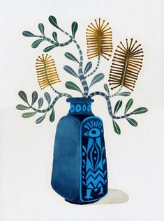 Banksia wall art australiana native plant coastal banksia   Etsy Plant Illustration, Watercolor Illustration, Painting Inspiration, Art Inspo, Australian Native Flowers, Australian Wildflowers, Guache, Plant Art, Collage Art