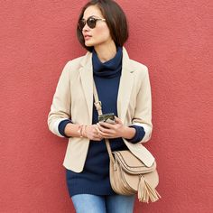Trending Now: Turtlenecks, would love this turtleneck...other  fashions paired with it in the blog I also love.