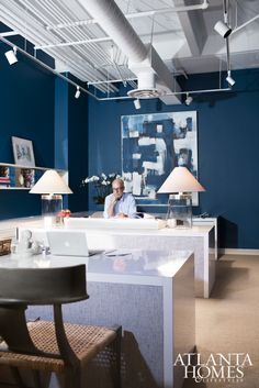 Elements of Style Blog | Creative Office Spaces | http://www.elementsofstyleblog.com