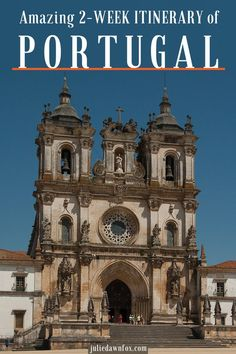 See the highlights and hidden gems in 2 weeks in Portugal with this fully managed itinerary designed by Julie Dawn Fox in Portugal Portugal Vacation, Portugal Travel, Best Countries To Visit, Cool Countries, Europe Destinations, Travel Tours, Europe Travel Tips, France, World Heritage Sites