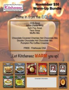 Kitcheneez - Warm Up Bundle for November