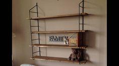 Mid century 60's retro shelf
