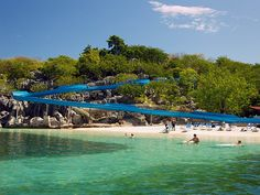 Not just for kids. Labadee, Haiti.