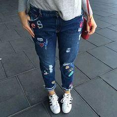 Nuestra adicta @sarahbellver luce jeans de nueva coleccion