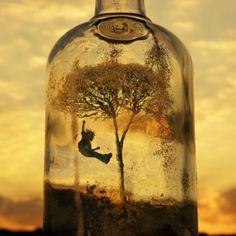 Childhood in a bottle. Doing this.