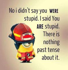 :-)...hahaha....minions!