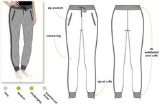 Shelby Sweat Pant - Sizes 10, 12, 14 - Women's PDF Sewing Pattern by Style Arc, DIY Clothes, Sewing Project by StyleArc on Etsy https://www.etsy.com/listing/223846604/shelby-sweat-pant-sizes-10-12-14-womens