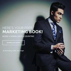 Step out in Style... Make a statement... & start Shaping the world we live in.  Grab yourself a FREE copy of this cheeky bestselling marketing book downloaded by over 60,000 entrepreneurs worldwide. Head to: www.benangel.co now to download your free 300 page marketing book.