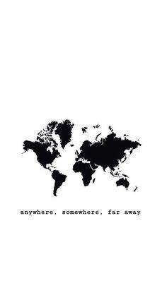 Where do I want to go? Anywhere. Somewhere. Far away. #travel #travelinspiration