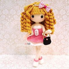 ⓝⓐⓝⓒⓨ  @ilovecrochet_nancy Pretty dolly all ...Instagram photo | Websta (Webstagram)
