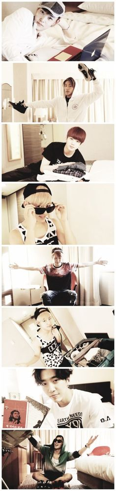 B.A.P - Jongup what are you doing