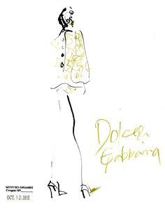 Dolce & Gabbana: spring 2014RTW