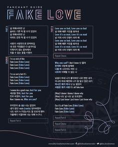 #BTSFanchant - Twitter Search Korean Phrases, Korean Quotes, Love Phrases, Bts Album List, Album Bts, Bts Song Lyrics, Bts Lyrics Quotes, K Pop, Fake Love