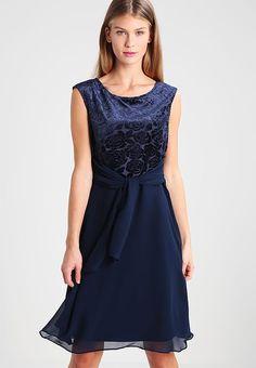 Esprit Collection Sukienka koktajlowa - navy za 409 zł (17.07.17) zamów bezpłatnie na Zalando.pl.