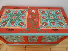 tulipános minta – Google Kereső Folk, Decorative Boxes, Google, Hungary, Home Decor, Girls, Toddler Girls, Decoration Home, Popular
