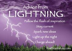 Advice from Lightning Magnet