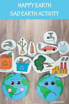 Children's Day Activities, Preschool Crafts, Preschool Activities, Earth Craft, Earth Day Crafts, Easy Toddler Crafts, Crafts For Kids, Earth For Kids, Earth Day Games