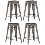 ZUO Modern - Marius Counter Chair in Gunmetal - 106114  SPECIAL PRICE: $132.55