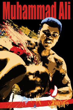 Muhammad Ali Sting Prints from AllPosters.com