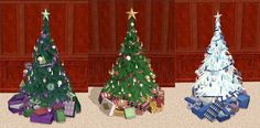 Mod The Sims - Testers Wanted: Ornament & Present replacements for Christmas Tree