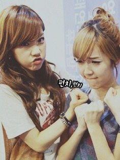 Taeyeon & Jessica of SNSD. Taengsic
