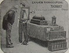 The Cathode Ray Tube site, X-Ray tubes. Early fluoroscope. (Yikes!)