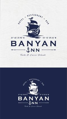 Identity for a nautical hotel & restaurant located in Turks, Caicos Islands | 99designs