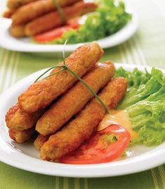 Palitos de pollo... ¡Deliciosos!