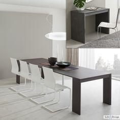 Jack: Tavolo Consolle Allungabile Moderno Zona Living.   LD Arredamento