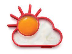 太陽の目玉焼きが作られる簡単キッチンツール「sunnyside」: DesignWorks